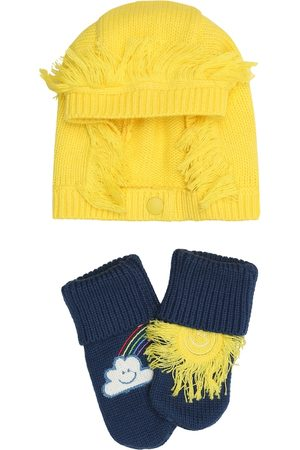 Stella McCartney Baby cotton-blend hat and socks set