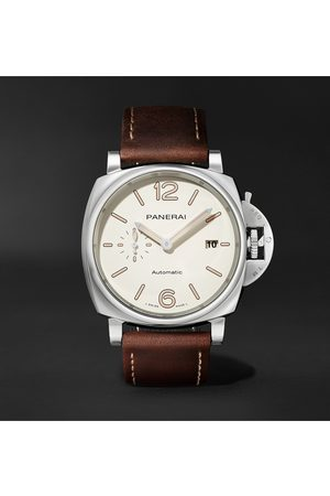 PANERAI Luminor Due Automatic 42mm Stainless Steel and Leather Watch