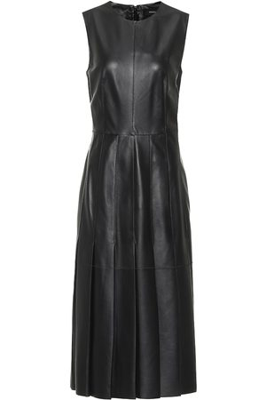 Joseph Demry leather midi dress