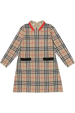 Burberry Vintage Check merino wool dress