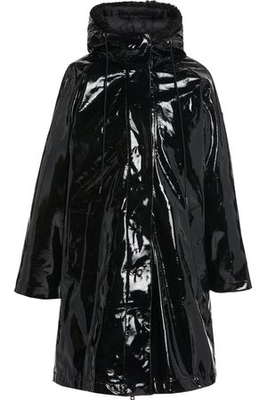 Moncler Pott Hooded 3-In-1 Coated-Vinyl Down Raincoat
