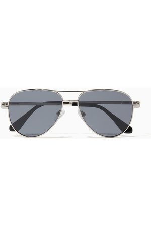 RODERER James Aviator Sunglasses in Metal