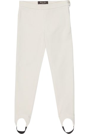 Loro Piana Karine stretch-cotton stirrup pants