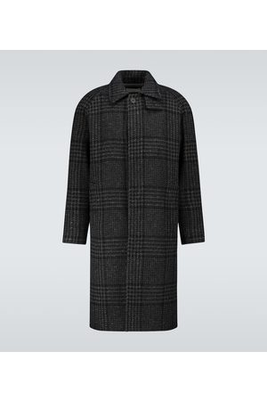 EDITIONS M.R Mac hunting checked coat