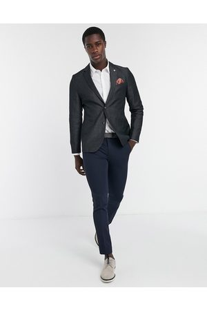Ted Baker Hayward slim fit diamond dobby blazer