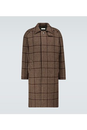EDITIONS M.R Mac checked hunting coat
