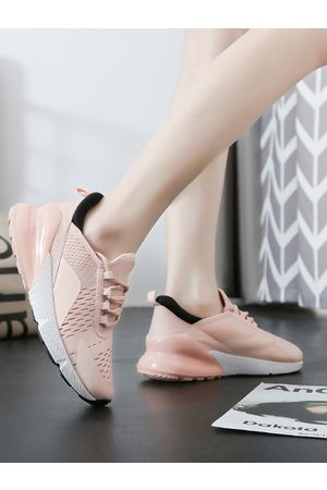 YOINS Mesh Breathable Lace Up Sneakers