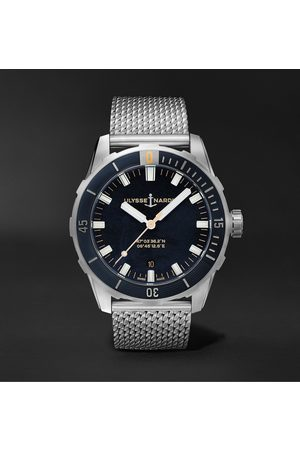 Ulysse Nardin Men Watches - Diver Automatic 42mm Stainless Steel Watch, Ref. No. 8163-175-7M/92