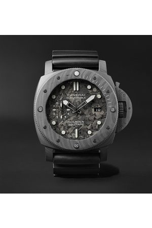 PANERAI Men Watches - Submersible Marina Militare Automatic 47mm Carbotech and Rubber Watch, Ref. No. PAM00979