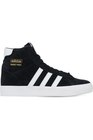 adidas Boys Sneakers - Basket Profi Leather Lace-up Sneakers