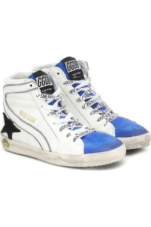 Golden Goose Slide Classic leather sneakers