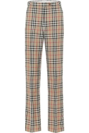 Burberry Vintage Check high-rise pants