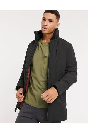 Jack & Jones Premium parka with fold away hood in