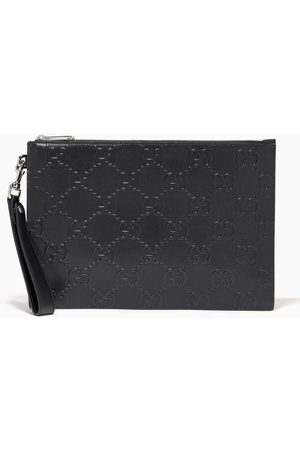 Gucci GG Pouch in Embossed Leather