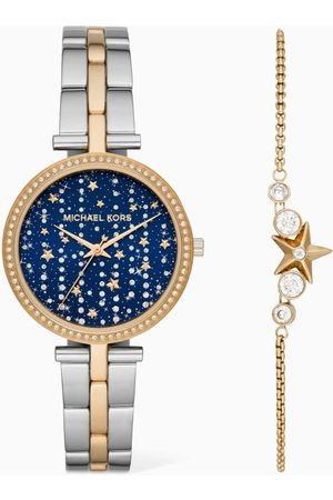 Michael Kors Maci Quartz Watch & Bracelet Set
