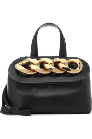 J.W.Anderson Chain Lid leather shoulder bag