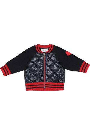 Moncler Baby wool and down jacket