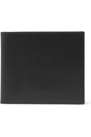 A.P.C. Men Wallets - Leather Billfold Wallet