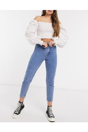 In The Style X Jac Jossa mom jeans in mid