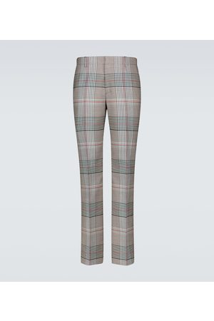 Burberry Checked wool pants
