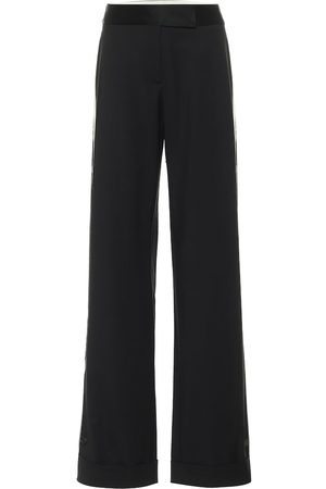 MONSE Wide-leg stretch wool pants