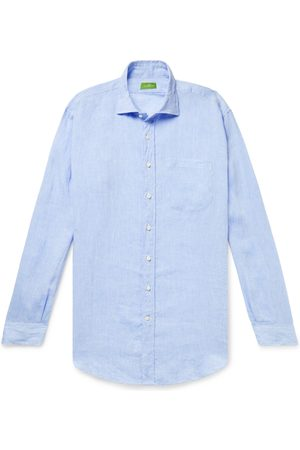 Sid Mashburn Gingham Cotton-Poplin Shirt