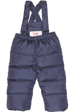 Il gufo Baby down puffer dungarees