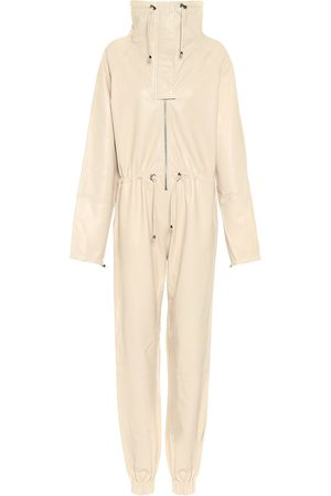 DODO BAR OR High-neck leather jumpsuit