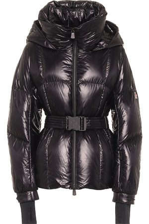 Moncler Grossaix belted down puffer jacket