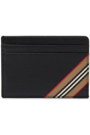 Burberry Card Case in Icon Stripe Grainy Leather