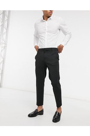 River Island Smart trousers in texture