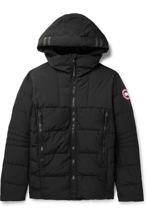 Canada Goose HyBridge Quilted Nylon Hooded Down Jacket