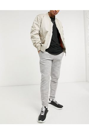 River Island Slim textured jogger in