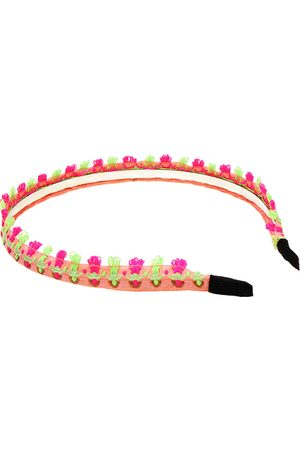 YOINS Ethnic Embroidered Headband in Pink