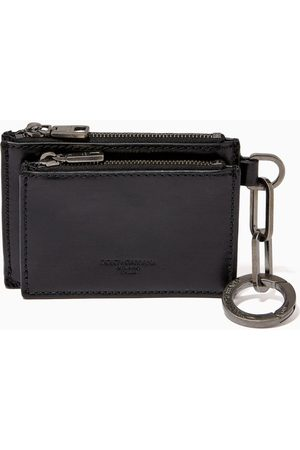 Dolce & Gabbana Women Wallets - Coin Pouch with Ring in Leather