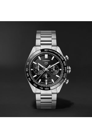 Tag Heuer Carrera Automatic Chronograph 44mm Stainless Steel Watch, Ref. No. CBN2A1B.BA0643