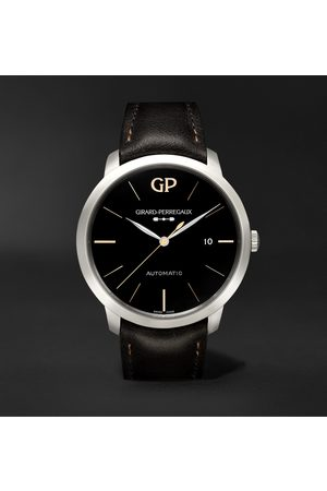 Girard Perregaux Men Watches - 1966 Infinity Edition Automatic 40mm Stainless Steel and Leather Watch, Ref. No. 49555-11-632-BB60