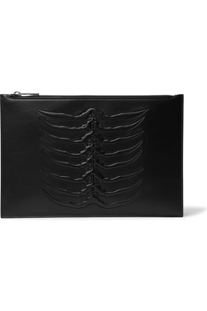 Alexander McQueen Embossed Leather Pouch