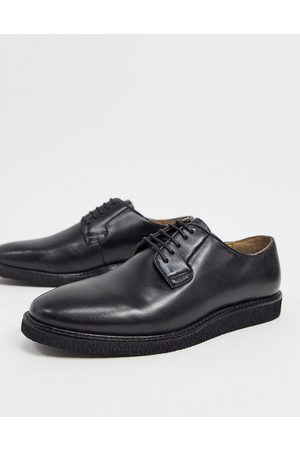WALK LONDON Del derby lace up shoes in leather