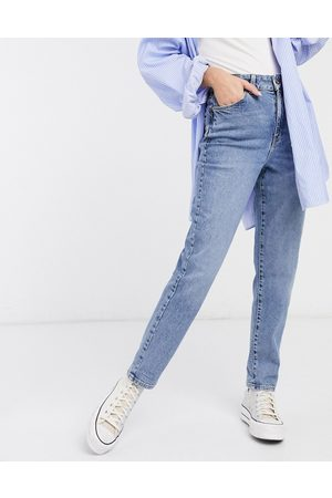 New Look Waist enhance mom jeans in mid