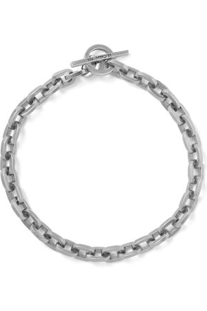 M. COHEN Burnished Sterling Chain Bracelet