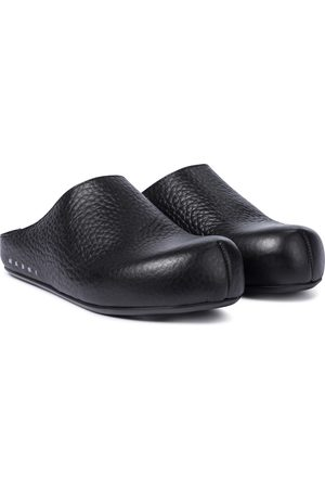 Marni Sabot leather slippers