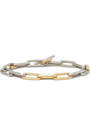 M. COHEN 18-Karat and Sterling Silver Bracelet