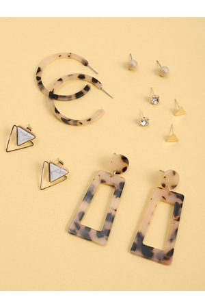 YOINS 6pairs Geometric Earring Set