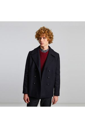 L'Exception Paris Made in France wool pea coat Marine