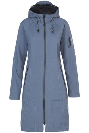 Ilse Jacobsen Women Rainwear - Long Raincoat Grayness