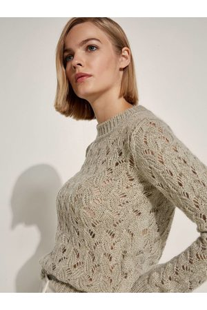 Caractere Women Jumpers - Jumper Perforated Lurex M203D000699N
