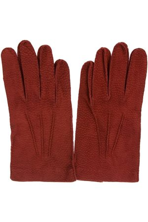 Merola MEN'S U47ROSSO LEATHER GLOVES