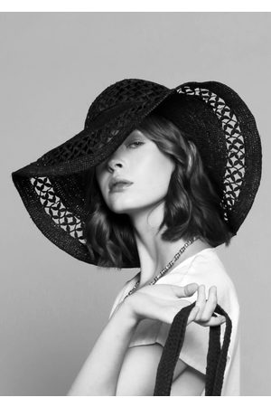MARAINA LONDON Women Hats - CHRISTIE large raffia Sun hat