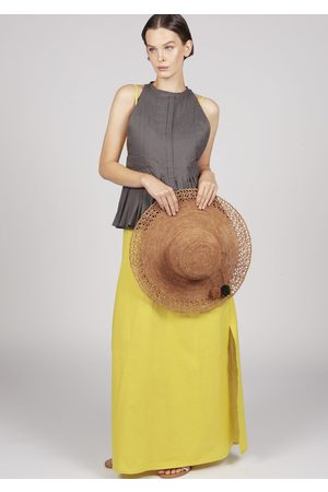 MARAINA LONDON Women Hats - ANAIS large raffia Sun hat in
